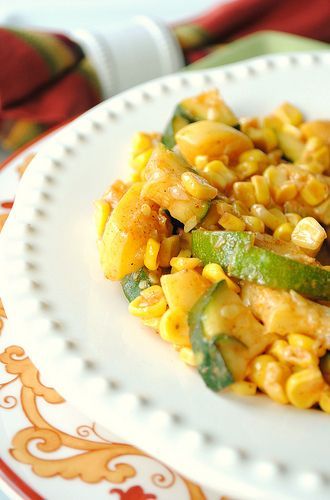 Corn and Zucchini Salad by How To: Simplify, via Flickr
