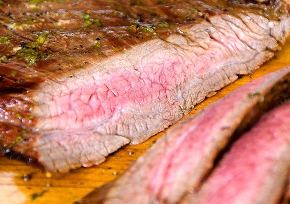 Grilled Marinated Flank Steak (wonderful marinade)