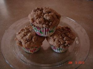 Rhubarb-Strawberry Streusel Muffins From http://wholeandheavenlyoven ...