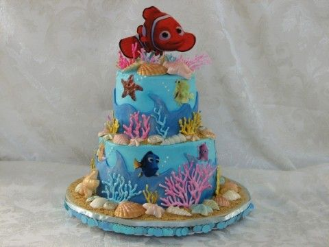 nemo birthday party ideas | finding nemo birthday party ideas supplies cakes dvd little OMG I NEED THIS CAKEEEEE