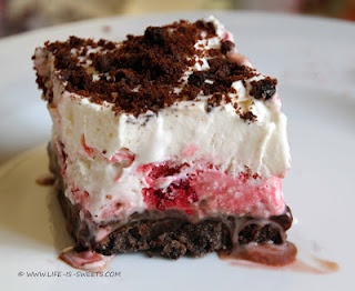 Vanilla Ice Cream Raspberry Sherbet Pie | We All Scream for Ice Cream ...