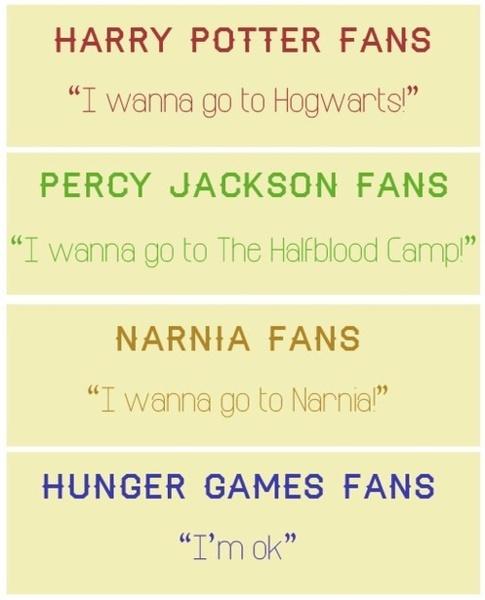 Hunger Games fans...
