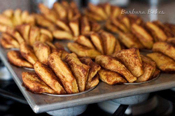Pumpkin Fantail Cinnamon Rolls with Maple Cream Cheese Icing Recipe ...