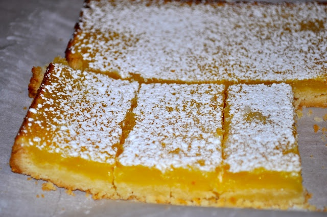 Meyer Lemon Bars | Brownies & Bars | Pinterest
