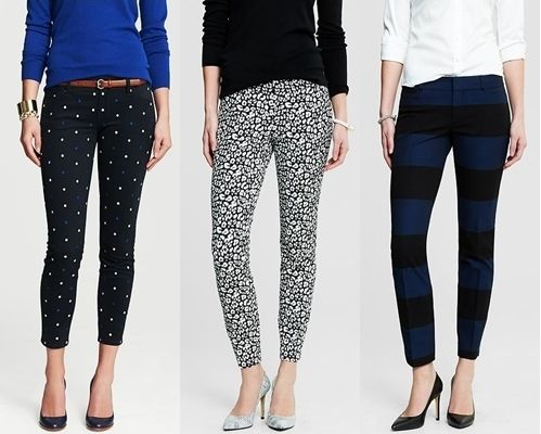 How to wear patterned skinny jeans