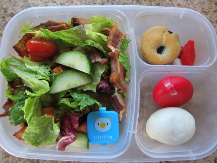 #healthy Salad Packed For #lunch | Healthier Recipes ...