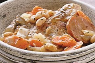 Pork Cassoulet recipe Made 2/13/13. Simple, tasty french casserole for ...