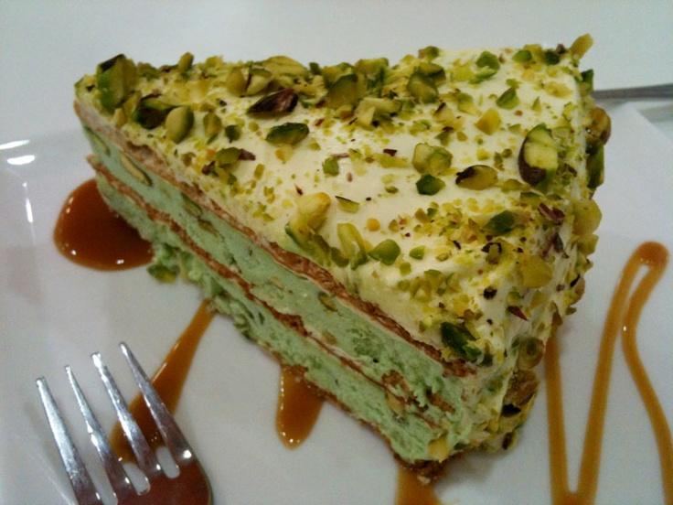 Pistachio torte. | Pistachio Perfection | Pinterest