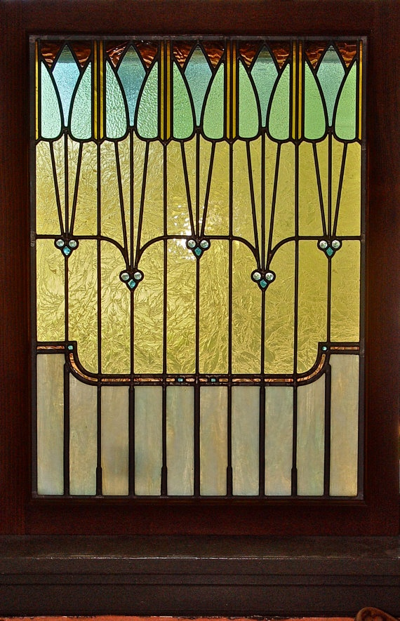 Pin by joy hodge on art nouveau deco stained glass for Art deco glass windows