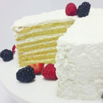 Seven Layer Coconut Cloud Cake