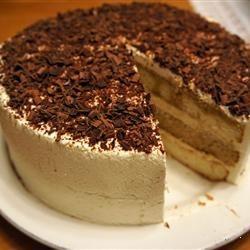 Thought I would share, instructions for making Tiramisu Layer Cake