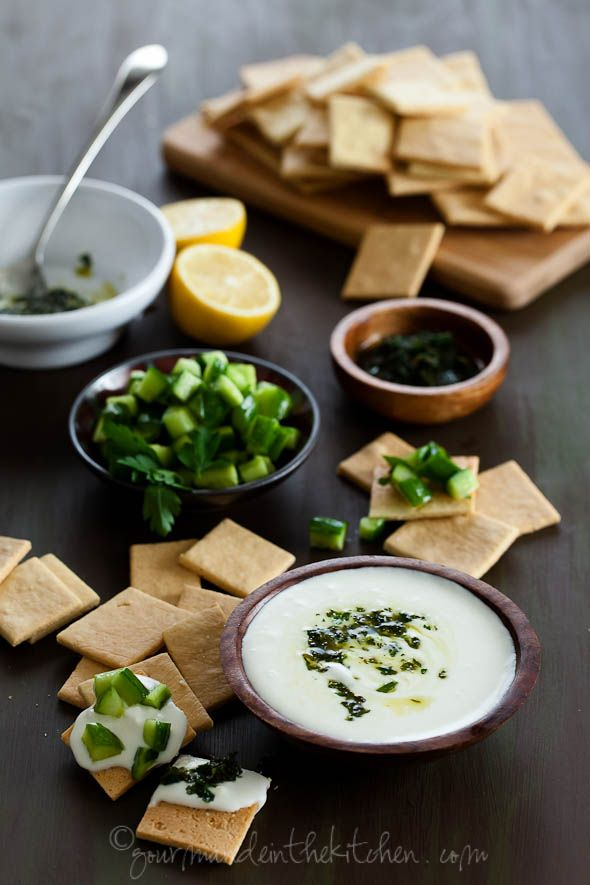 Whipped Feta Dip from @Sylvie | Gourmande in the Kitchen