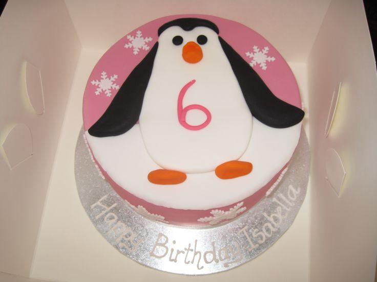 Birthday Cake Ideas Penguin : Penguin birthday cake!! Cakes Pinterest