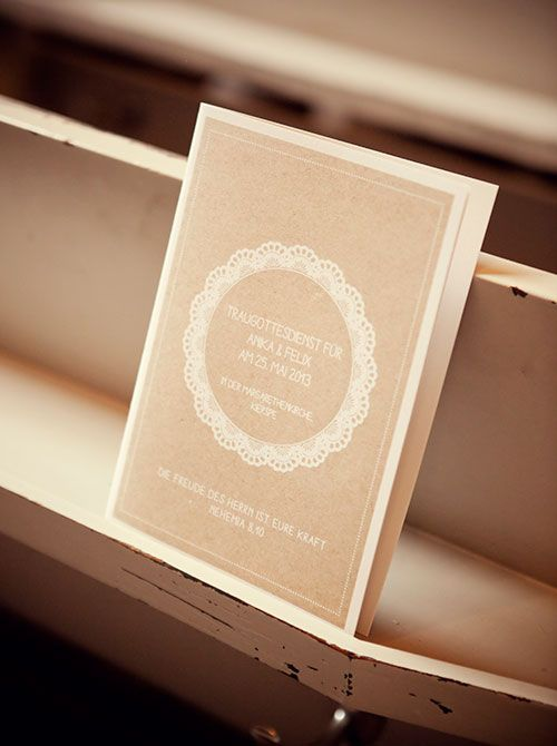 Kirchenheft  Wedding Inspiration  Pinterest