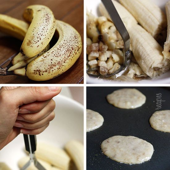 Low Fat Banana Fritters: Size: 4 pancakes 1 tbsp each • Calories ...