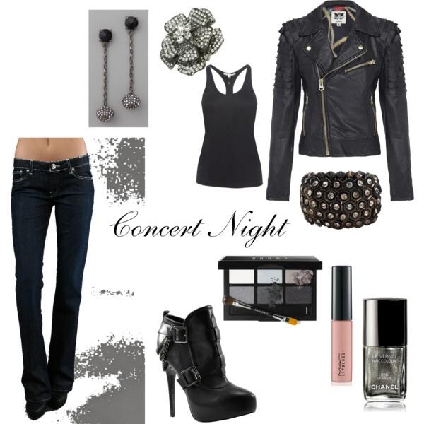 Rock Concert Fashion Pinterest