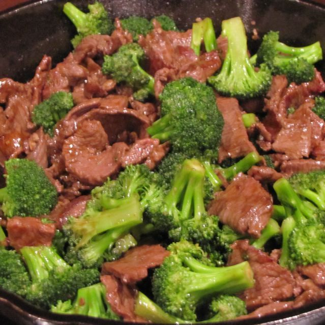 Chinese Beef Broccoli | Ethnic-Chinese-Asian-Thai food | Pinterest