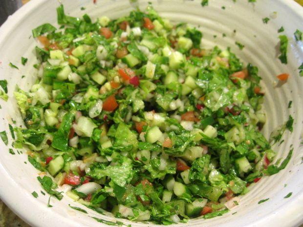 Israeli Salad Recipe — Dishmaps