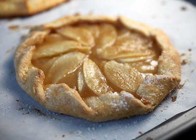 Butterscotch Apple Galette | Must-try Recipes | Pinterest