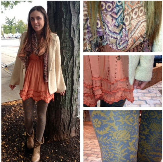 15 Tips On How to Combine Tights With Dresses and Skirts pics