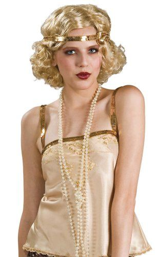 Rubies costume white pearl necklace great with flapper costumes