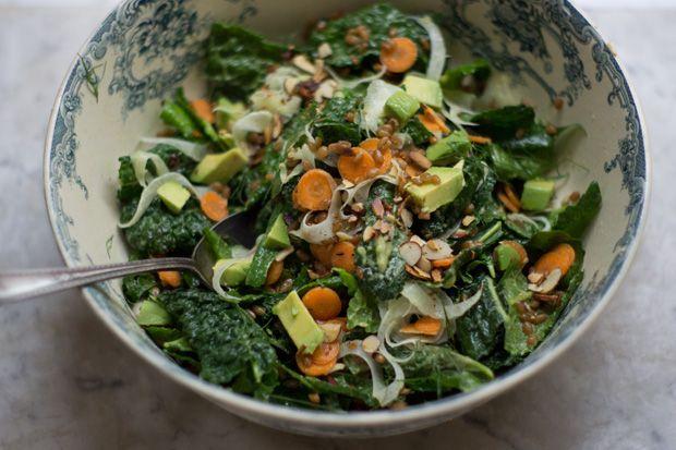 Kale Market Salad 101 Cookbooks. | Recipes ~ Soups, Salads | Pinterest