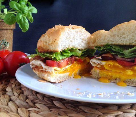 Spanglish Breakfast Sandwich | Sandwich Recipes | Pinterest