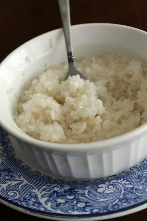 Easy Coconut Sticky Rice | Food! | Pinterest