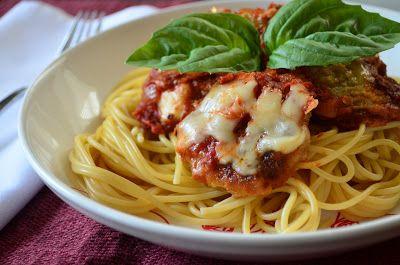 Simple Gourmet Cooking: Skillet Eggplant Parmesan