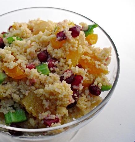 Couscous & Pomegranate Salad