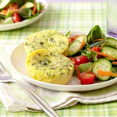Healthy dinner ideas: Zucchini-and-Ricotta Mini Frittatas recipe