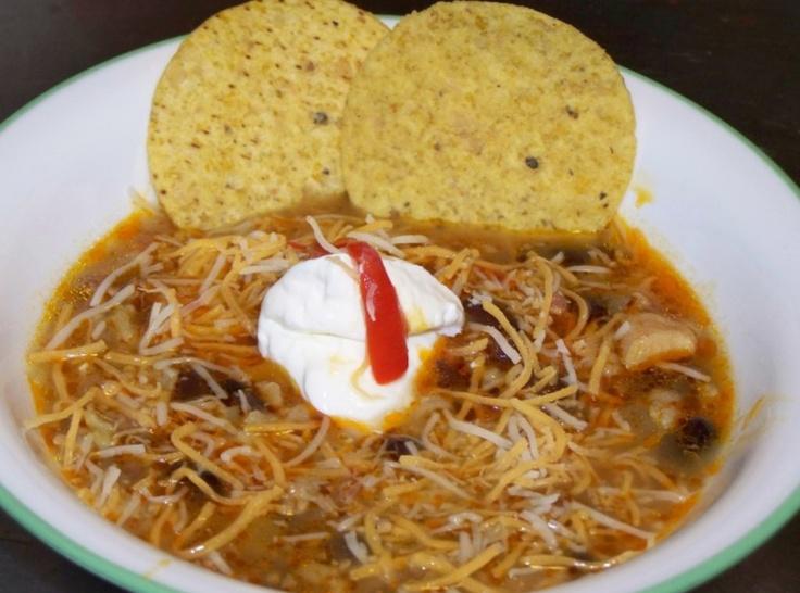 Chicken Fajita Soup | Cooking | Pinterest