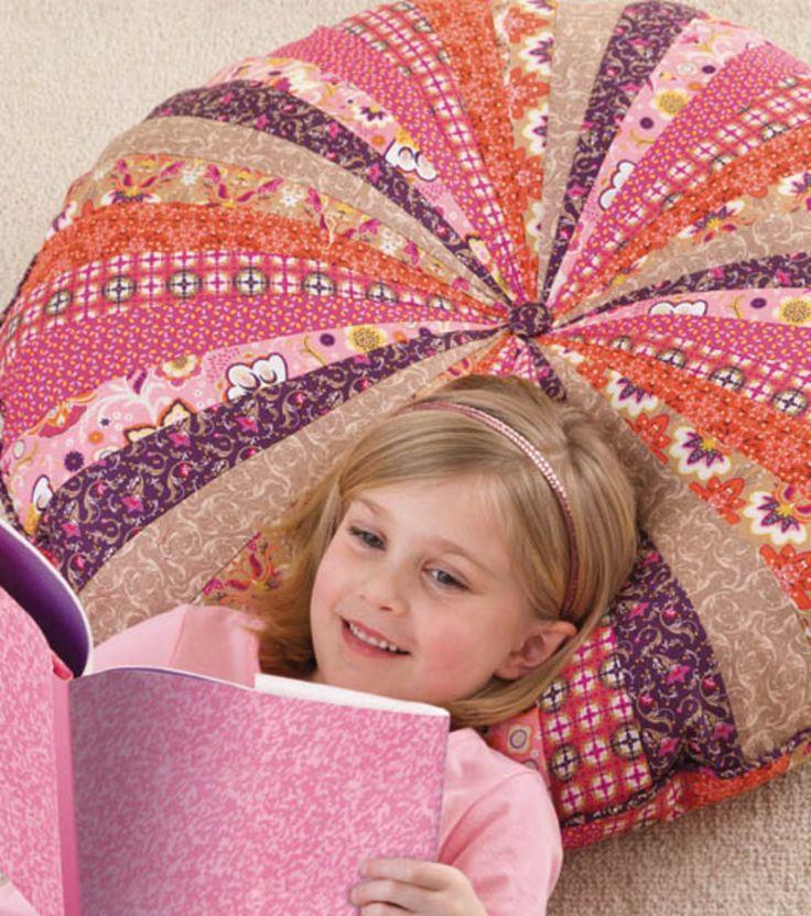 Floor Pillows Joannes : 30 Inch Round Floor Pillow Crafts Pinterest