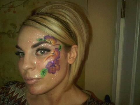 Fun Face Painting @ 60's/70's Party