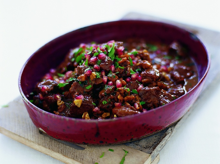 "Spiced Lamb Stew with Walnuts and Pomegranate"" from Cookstr.com # ..."
