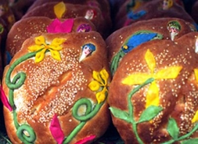 Bread for Day of the Dead | Day of the Dead | Pinterest