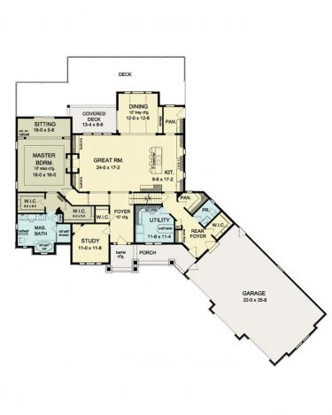 Mud room walkin closet floor plan new home construction for House plans with mud rooms