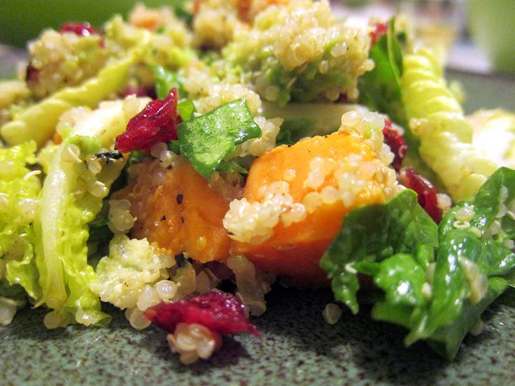 Grilled Sweet Potato & Quinoa Salad (GF, DF, SF, NF, V)