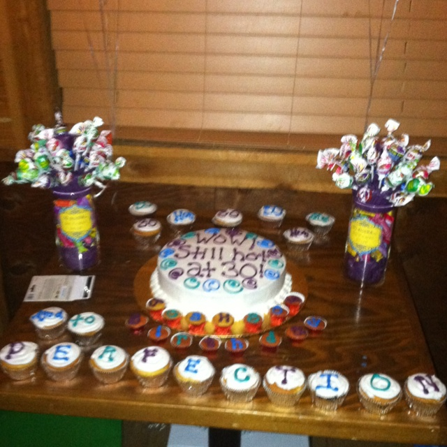 30th birthday for my husband!!!  Party  Pinterest
