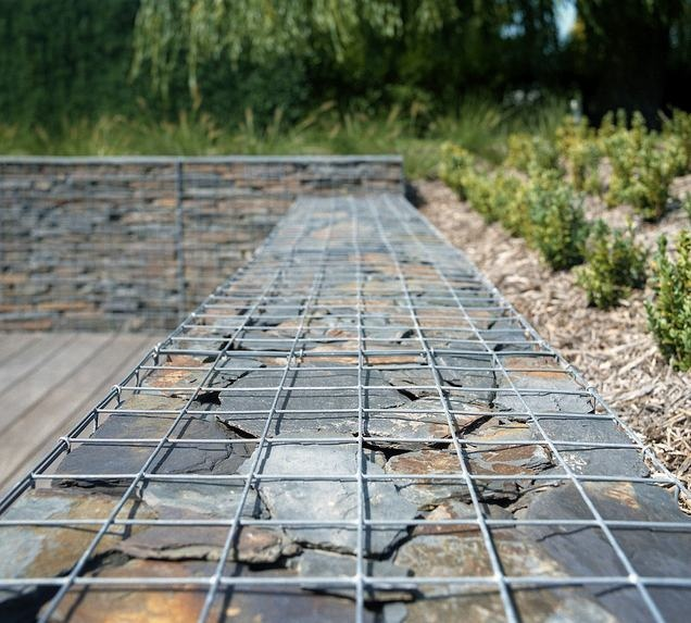 Gabion retaining wall gabion ideas pinterest Gabion wall design