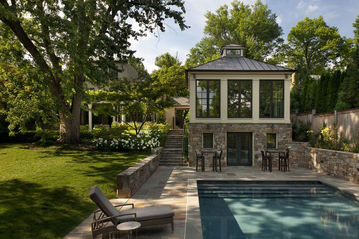 2 Story Pool Guest House Home Pinterest