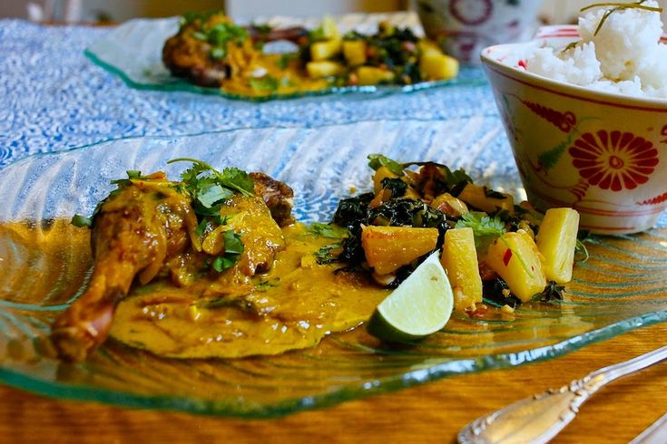 """Nutmegs, seven: """"Delicious duck curry"""" (red Thai curry with slow-c..."""