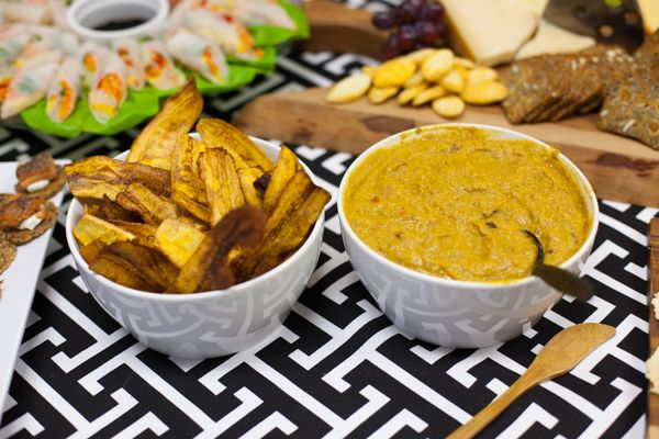 Curry Lentil Hummus by Chef Ivars Rasa   Delish   Appetizers & Party ...