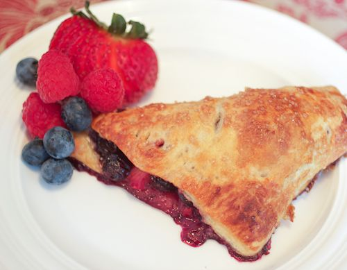 Mixed Berry Hand Pies - The Girl in the Little Red Kitchen