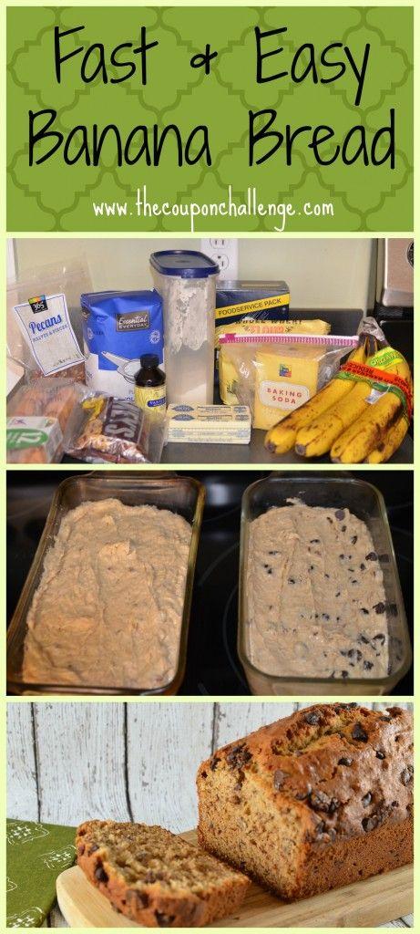 Fast and Easy Banana Bread Recipe