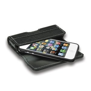 QuickFlipCase for iPhone 4 and iPhone 4S, Apple Bumper Edition, Grantwood Technology's Premium Leather Horizontal Flip Case (Black) (Wireless Phone Accessory)  http://flavoredwaterrecipes.com/amazonimage.php?p=B0043GB2PO  B0043GB2PO
