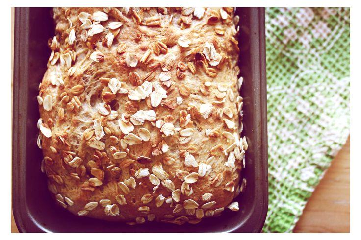 Oatmeal honey buttermilk bread | Bread | Pinterest
