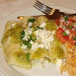 Authentic Enchiladas Verdes | Recipe