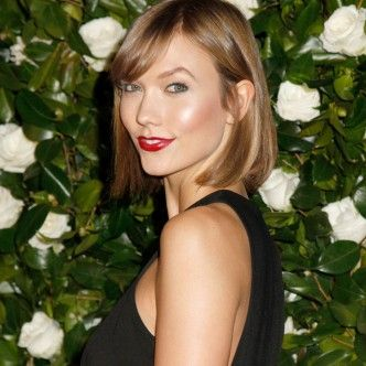 Karlie Kloss bob hairstyle thumb | HAIR-SPIRATION | Pinterest