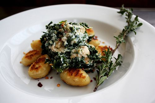 Gnocchi with Spinach and Ricotta   food & drink   Pinterest